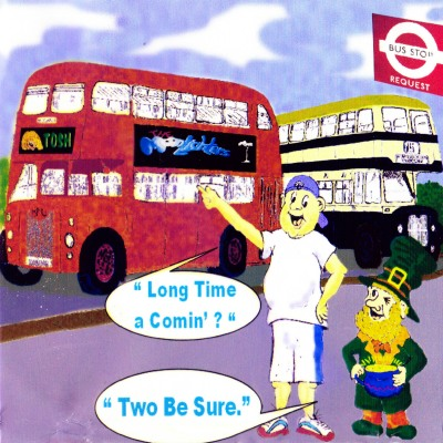 Long Time a-Comin' / Two Be Sure/ Tosh Ewins